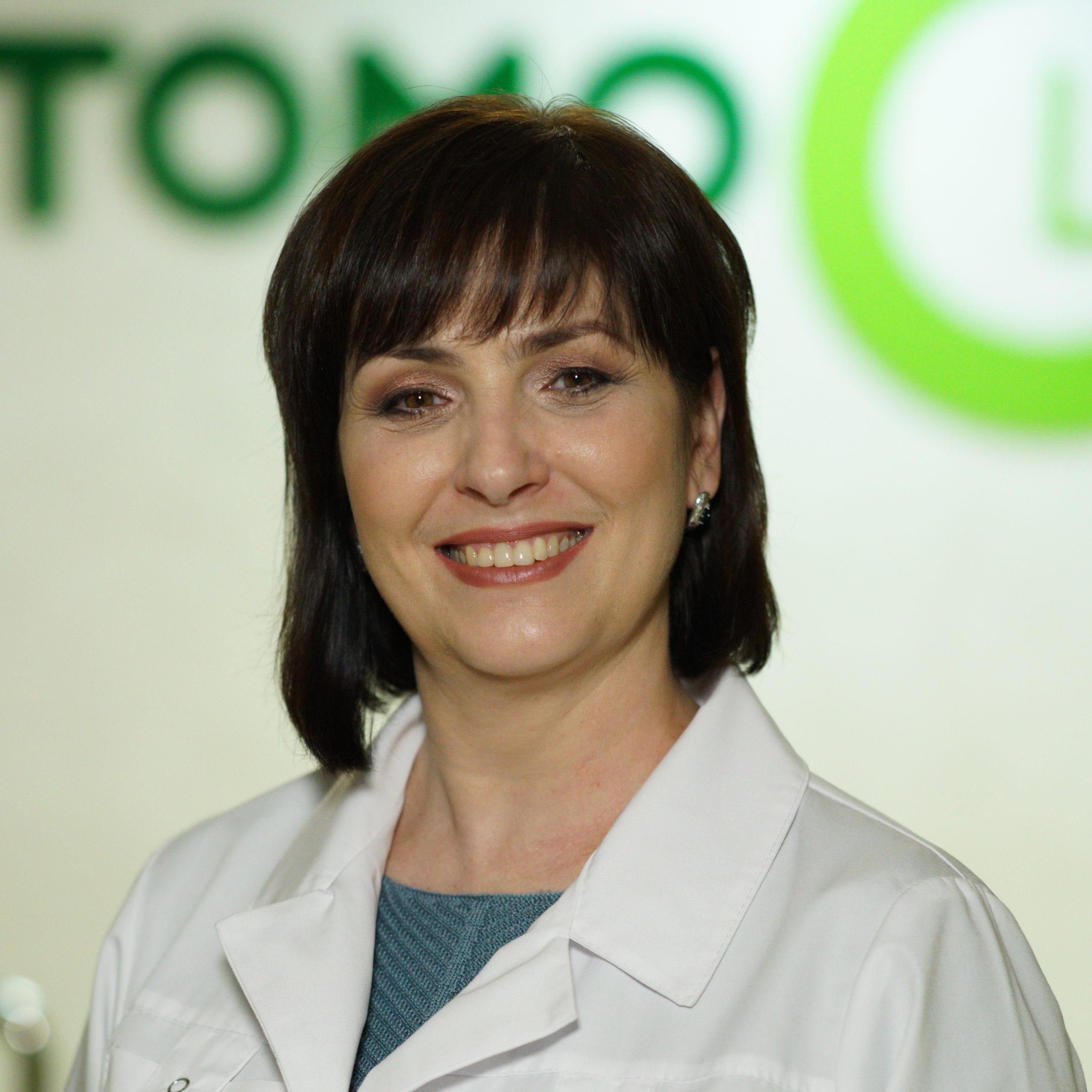 завідуюча лікувальним відділенням наталя серьогіна