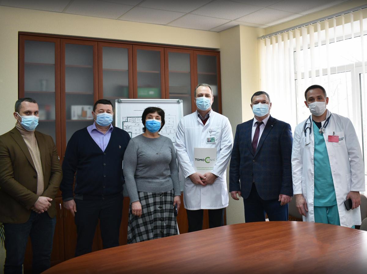 Vizyt Kirovogradskoii obl rady do TomoClinic